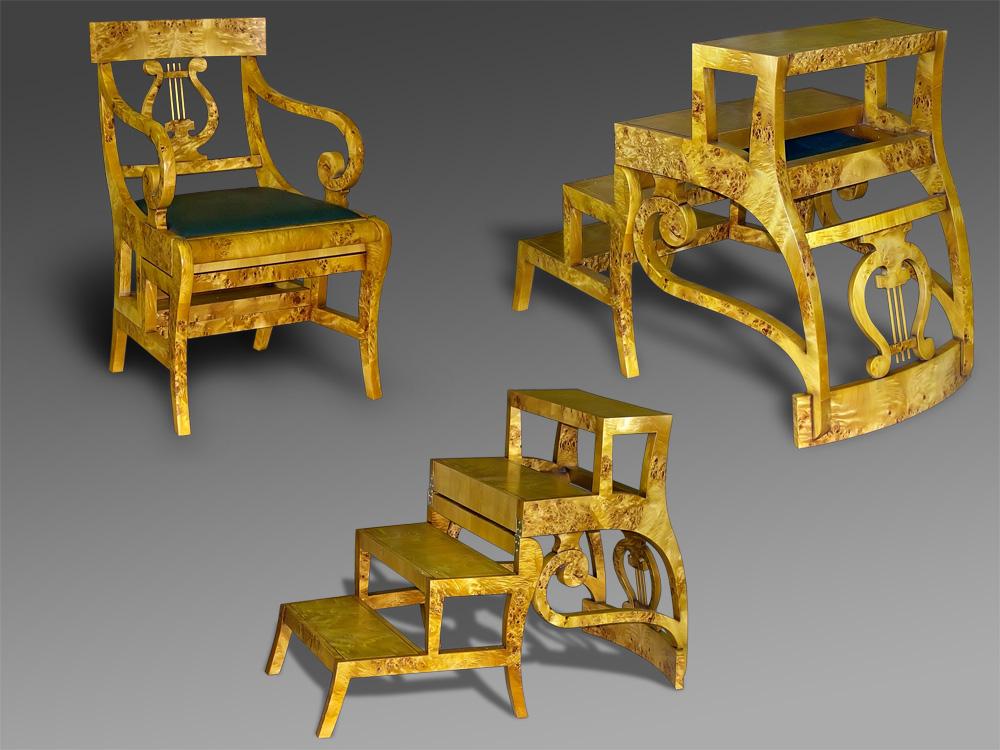 Кресло-лестница «Лира»